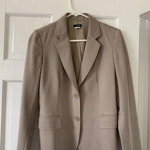 JCrew Italian wool blazer, taupe, size 6